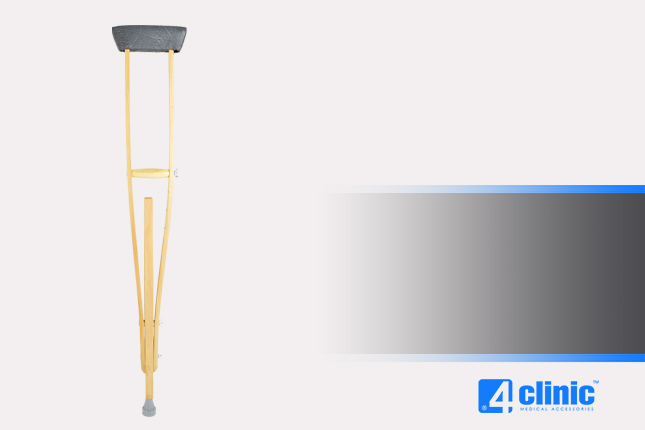 Orthopedic armpit crutch AM-KP