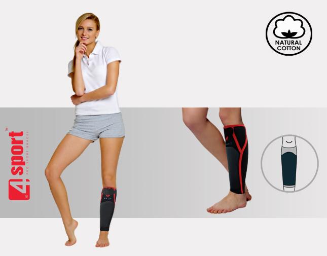 Anatomische Unterschenkelorthese mit Schienbeinschützer AS-PU-01