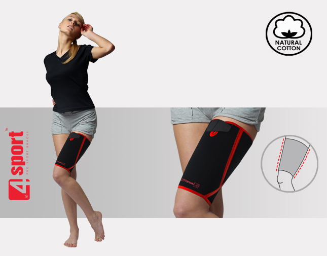 Anatomic thigh support AS-U