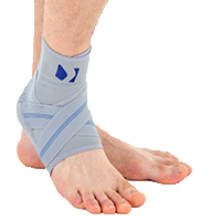 Ankle support EB-SS GREY