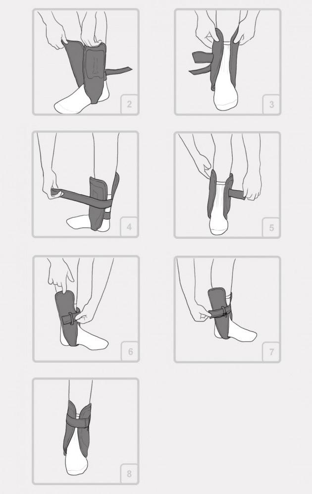 Orteza stawu skokowego i stopy