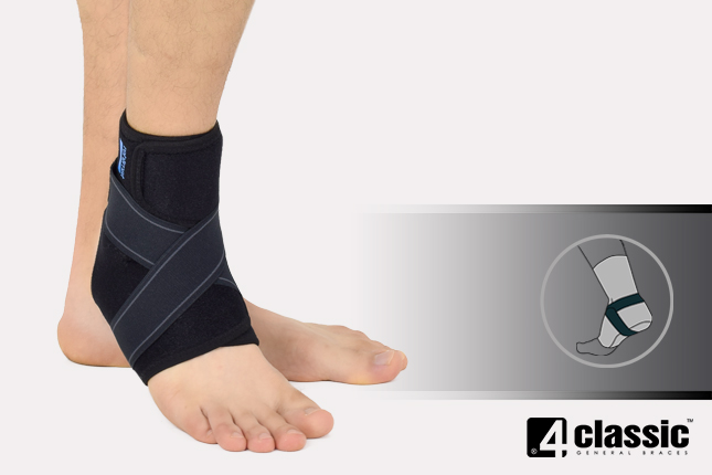 Universal ankle joint stabilization U-SS