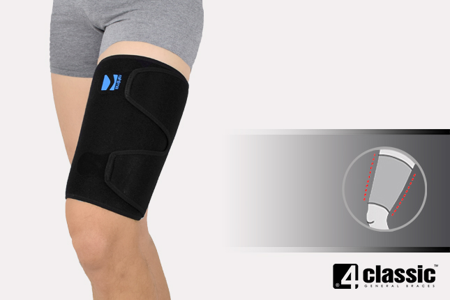 Universal thigh support U-U