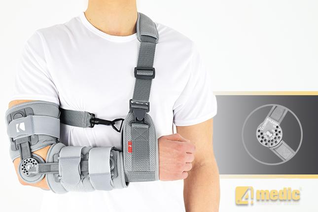 Aparat redresujący stawu łokciowego AM-KG-AR/1R