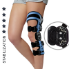 Back-front skeleton structure brace of lower limbs with splints 2R AM-KD-AM/2R-03