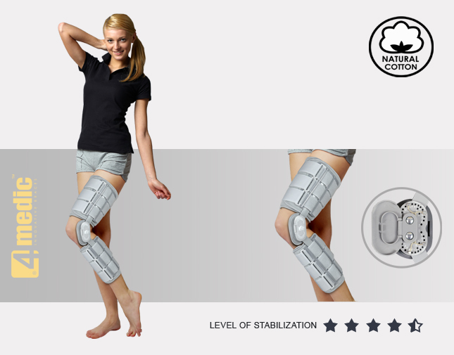 Lower limb support AM-KD-AM/2R
