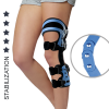 Four points knee brace with 3-axial hinges AM-KD-AM/3-03