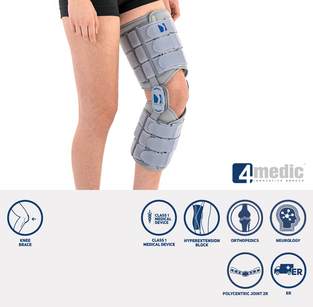 Hyperextended knee brace AM-KD-AM/2R  NEURA
