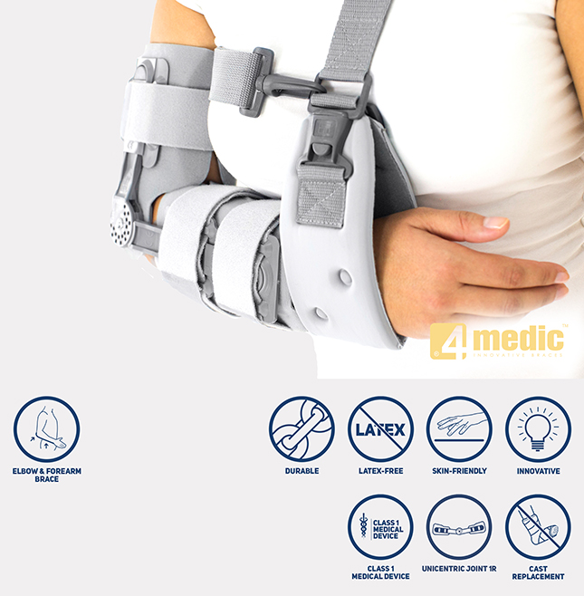 Elbow ROM brace AM-KG-AR/1R
