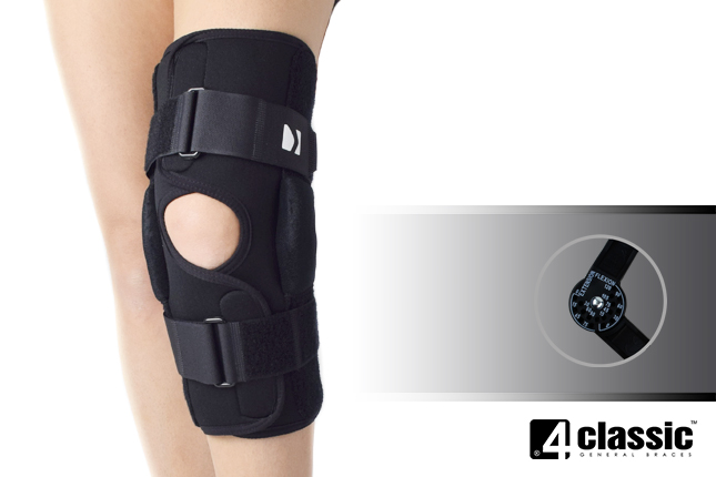 Open knee brace AM-OSK-O/1R