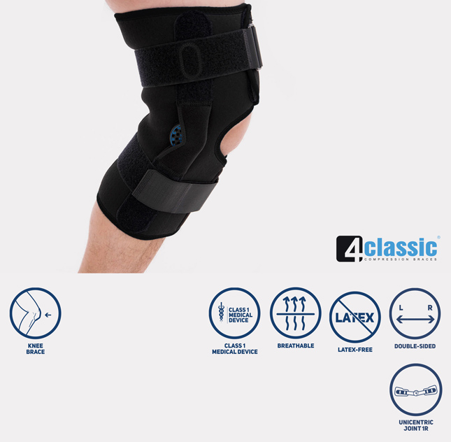 Open knee brace AM-OSK-O/1R