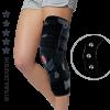 Lower limb brace with 3 axial splints AM-OSK-ZL/3