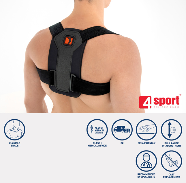 8-shaped posture corrector AM-PES-02