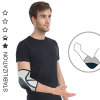 Anatomic elbow brace with cap AS-L-02