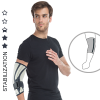 Anatomic elbow joint brace with orthopaedic stays AS-L/F