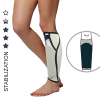 Anatomic shin brace with shinbone cap AS-PU-01