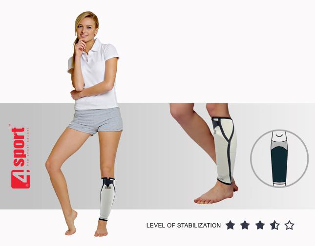 Anatomic shin brace with shinbone cap AS-PU-01 | Lower limb orthosis ...