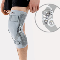 Lower limb support EB-SK/2RA GRAY