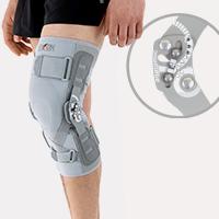 Lower limb support EB-SK/2RA GRAY