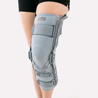 Lower limb support EB-SKL/2RA GREY