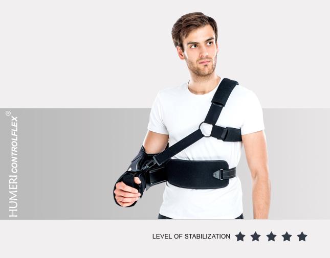 Retracting brace for upper limb AM-AO-KG