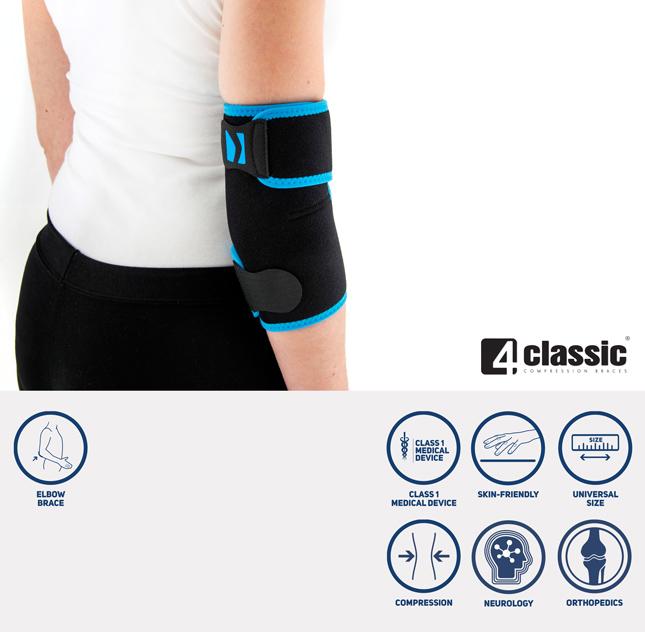 Universal elbow joint brace U-SL