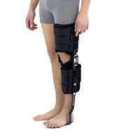 Lower-extremity support AM-KDS-AM/2R