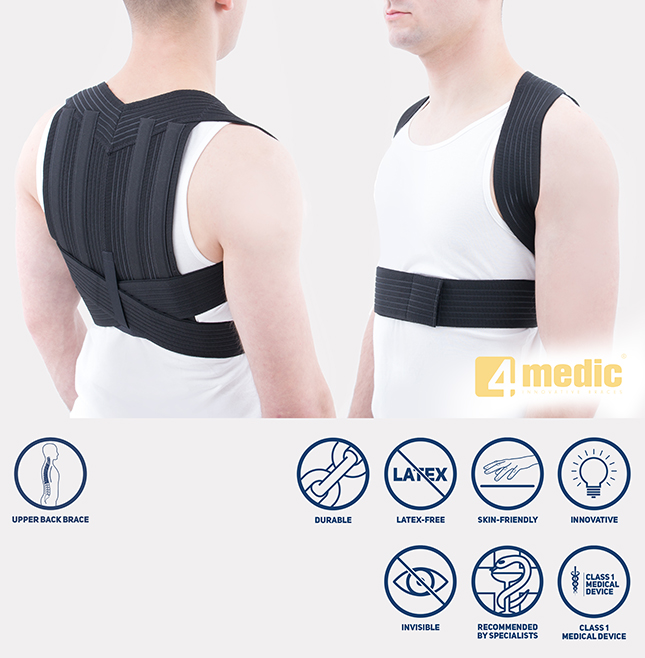 Chest and shoulder posture corrector AM-PES-01