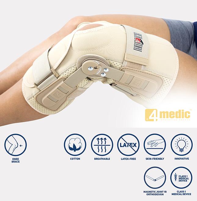 Knee joint brace IB-SK/1R