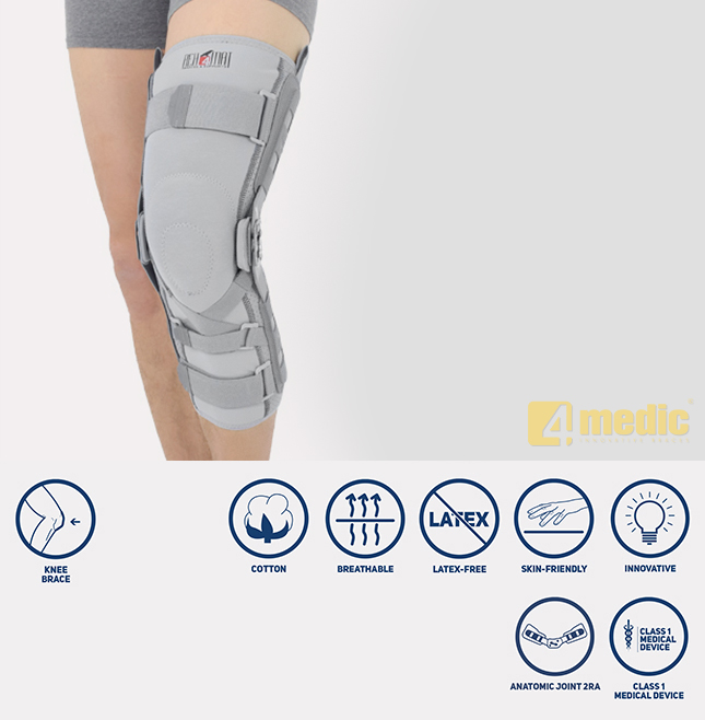 Long knee brace EB-SKL/2RA
