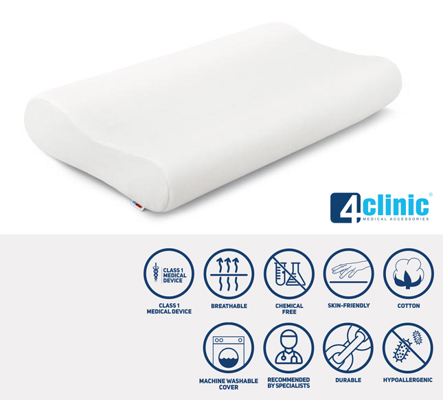 Memory foam pillow PA-VM-01