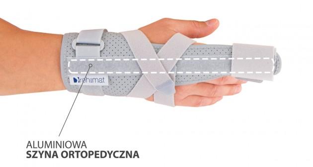 Aluminiowa szyna ortopedyczna
