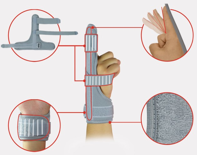 Finger immobilizer splint AM-D-02