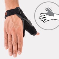 Finger splint AM-D-04