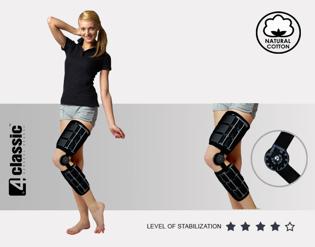 Lower limb support AM-KD-AM/1R
