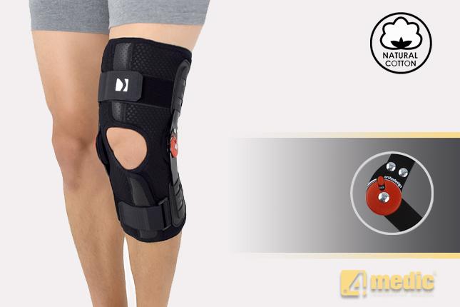 The open knee brace AM-OSK-O/1R-01