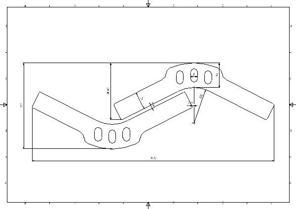 Dokumentacja konstrukcyjna przykładowych detali do ortez ortopedycznych