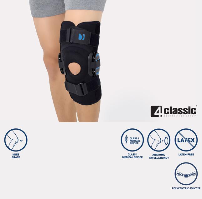 The closed knee brace AM-OSK-Z/2R
