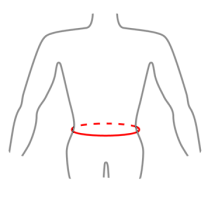How to measure - Waist circumference