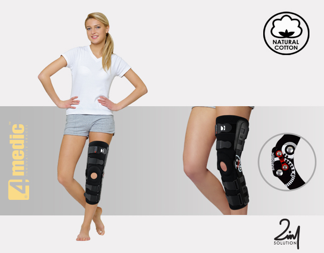Lower limb support AM-OSK-Z/2RA-02