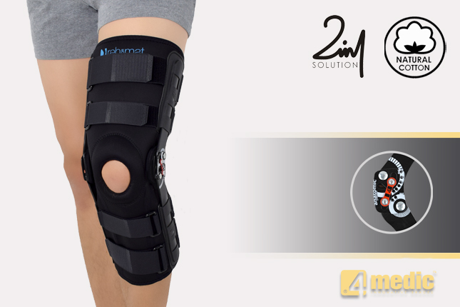 Kniebandage AM-OSK-ZL/2RA-02