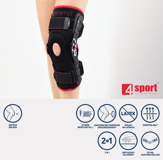 Orteza kolana AS-KX-06