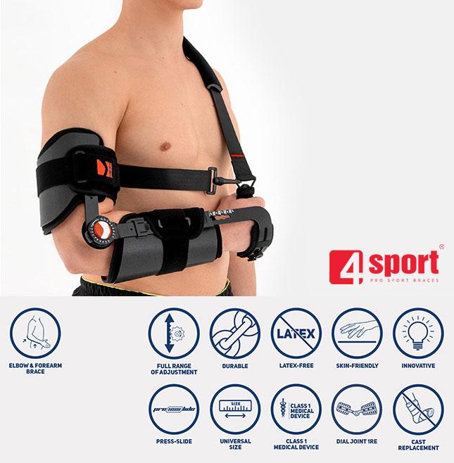 Upper limb support AM-KG-AM/1R