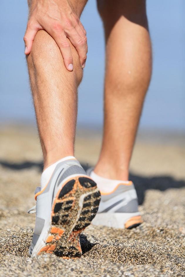 Przeciążenia i urazy mięśni łydki