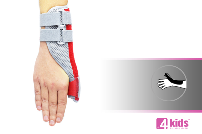 Thumb brace for kids AM-D-01