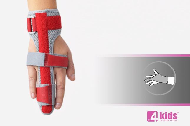 Finger brace for kids AM-D-02