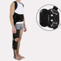 Lower limb support COMPLEX PLUS TLSO