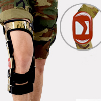 Lower limb support RAPTOR BIONIC 4army