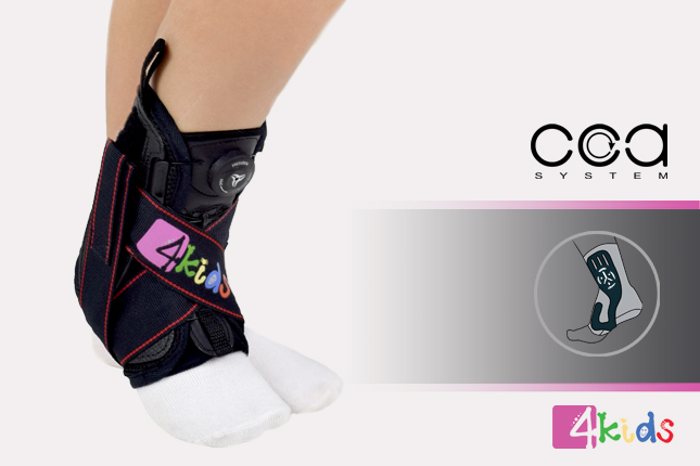Pediatric ankle brace AM-OSS-03/CCA