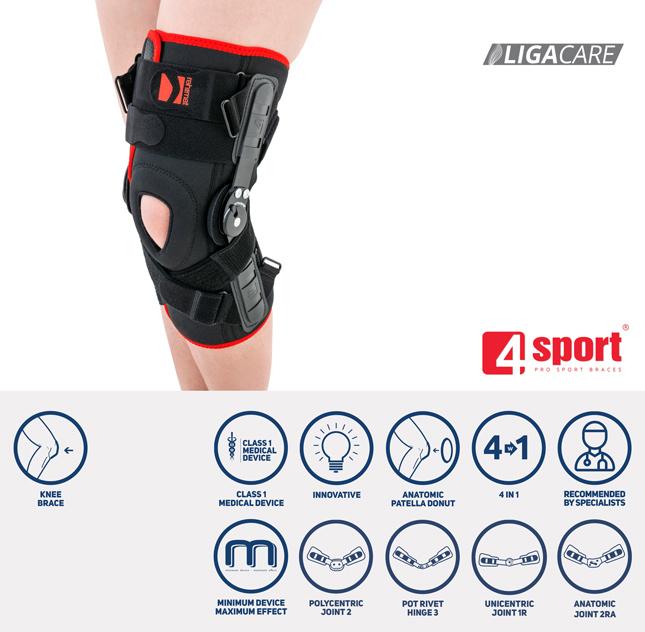 Lower limb support OKD-23